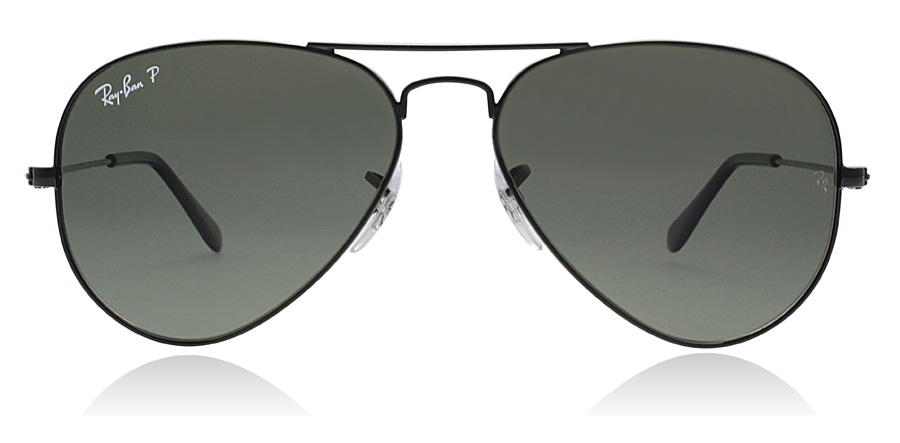 Ray-Ban RB3025 Sort 002/58 58mm Polariseret