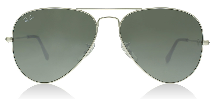 Ray-Ban Aviator RB3025 Sølv Krystal 003/40 62mm