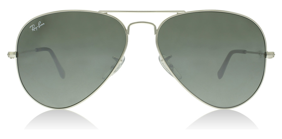 Ray-Ban Aviator RB3025 Sølv Spejlglas W3275 55mm