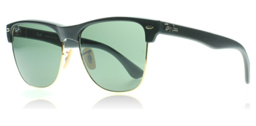ray-ban-4175-clubmaster-oversized-solbriller-sort-877
