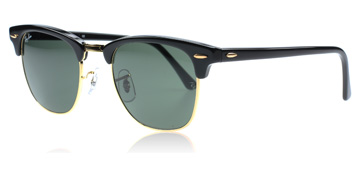 ray-ban-3016-clubmaster-solbriller-sort-w0365-small-49mm