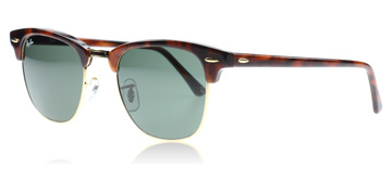 ray-ban-3016-clubmaster-solbriller-tortoise-w0366-large-51mm
