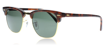 ray-ban-3016-clubmaster-solbriller-tortoise-w0366-small-49mm