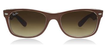 Ray-Ban New Wayfarer Børstet Brun/Transparent