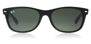 Ray-Ban New Wayfarer Sort/Mørk Lilla