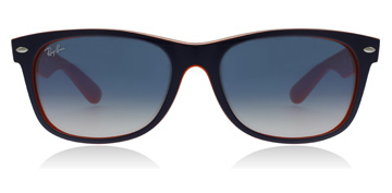 Ray-Ban New Wayfarer Top Blå Orange