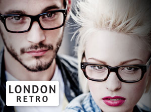 London Retro briller fra Designer Briller Shop